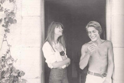 Francoise Hardy and Jacques Dutronc.