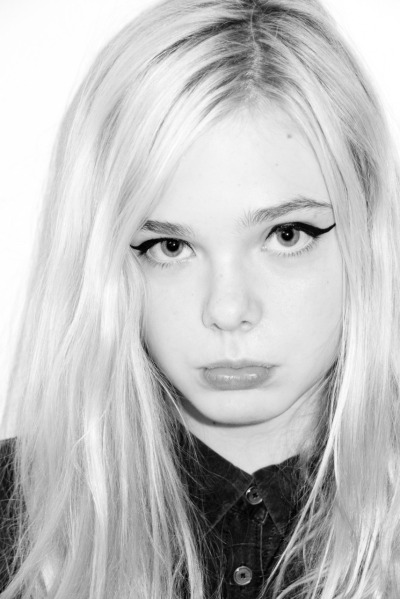 terrysdiary:  Elle Fanning at my studio #9