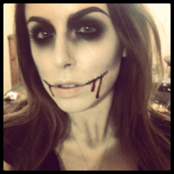 haha i forgot about this! one of my halloween looks ;)