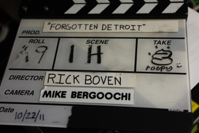 THAT'S A WRAP! Now…on to post production…. rickboven:  Check out over 100 photos from the set of my upcoming short film FORGOTTEN DETROIT. Easily the the heaviest lifting I've done so far. Hop on over to our Facebook page and 'LIKE' Hott Garbage for more swell updates.