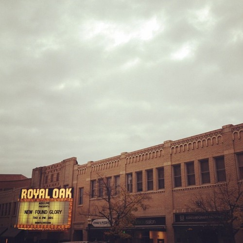 Royal Oak  (Taken with instagram)