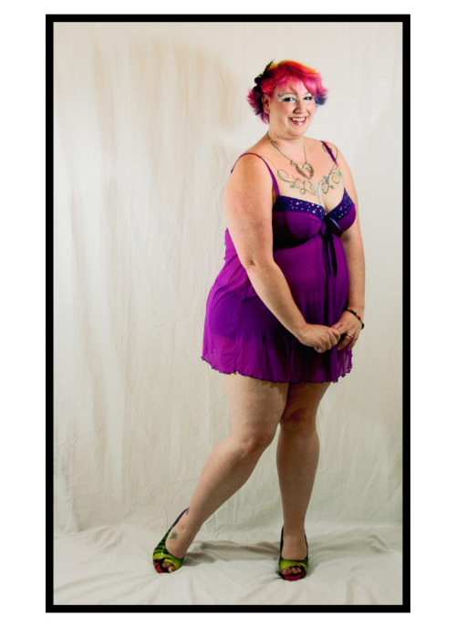 fuckyeahfatpositive:  Lingerie from Lane Bryant size 18/20 Shoes from Torrid Loving my body at any size: Priceless.