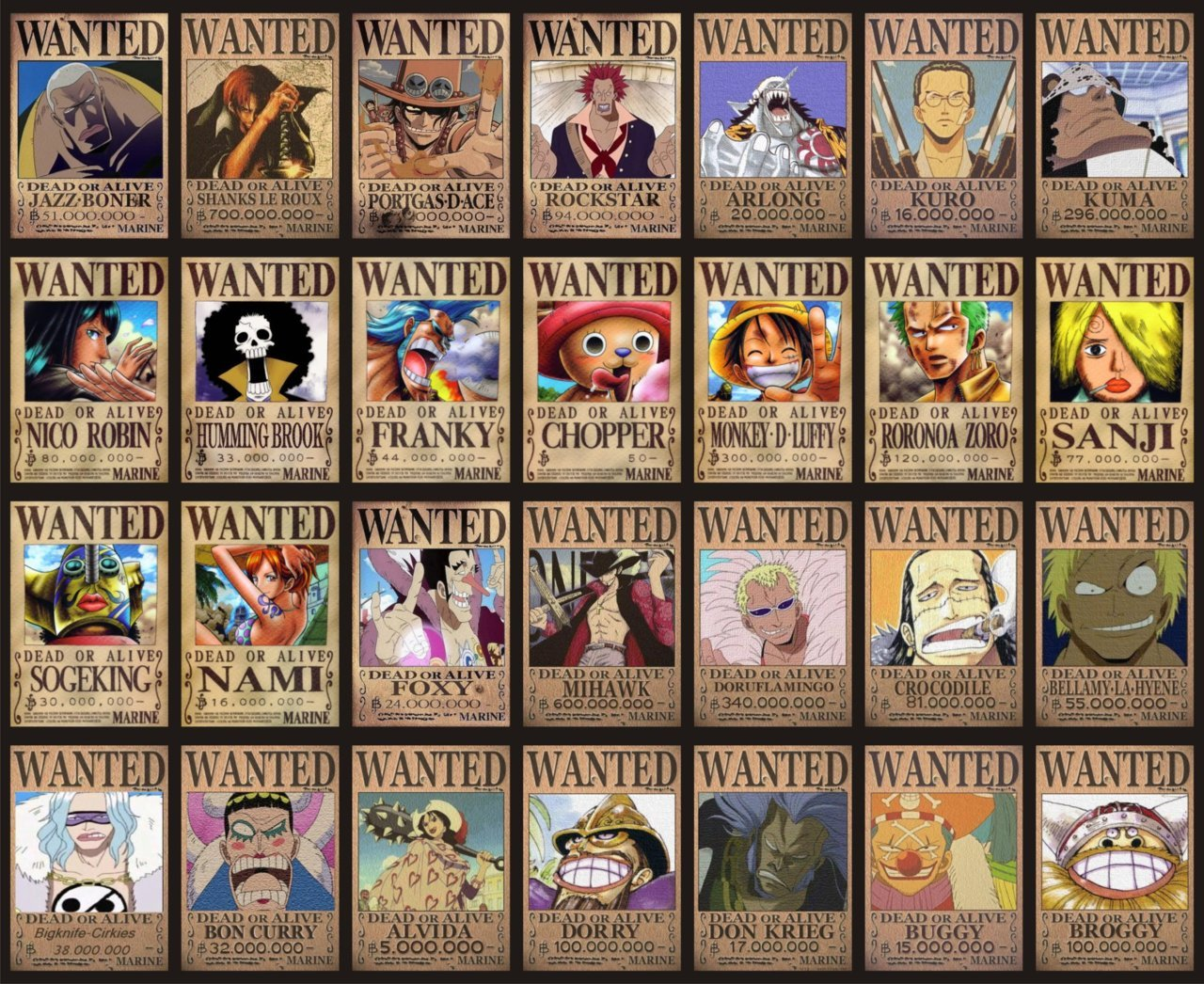 REY VERGEL on Tumblr. (ONE PIECE - WANTED! Dead or Alive! Jazz...)