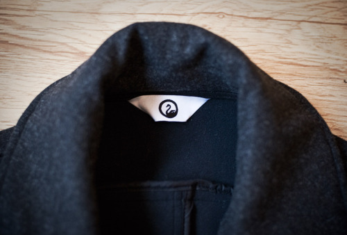 Outlier Liberated Wool Peacoat