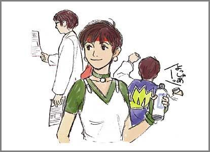 Rebecca Chambers | RE1  Offical Capcom Concept Art