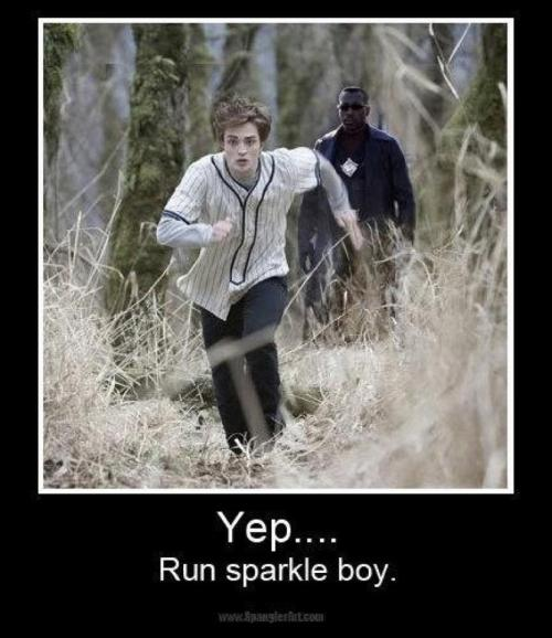Run sparkle boy. #Blade