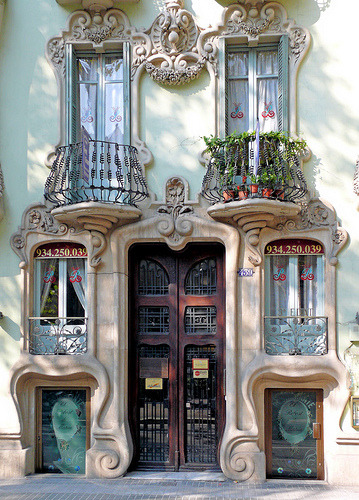 The Casa Pere Brias in Barcelona, Spain (by Arnim Schulz)