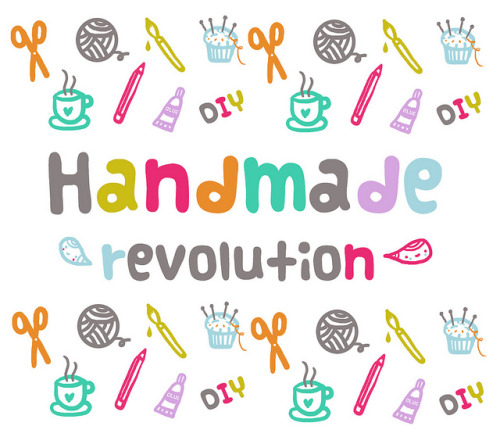taught:  handmade revolution by Pinkrain Indie Design on Flickr.