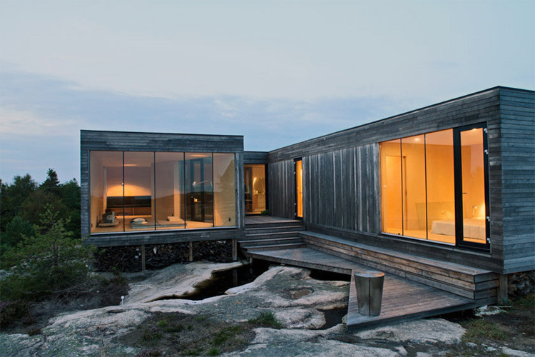 prate:  Inside Out Cabin by Reiulf Ramstad Arkitekter