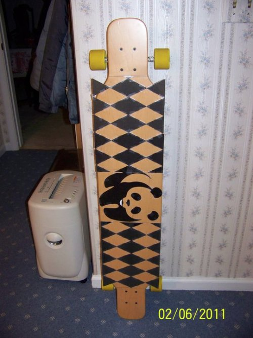 My griptape design. You like? submitted by j-law-wee-wah