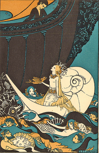 Sea Full Of Mermaid by Dorothy Lathrop