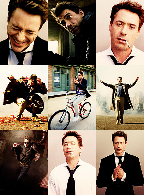 Favorite Photoshoots || Robert Downey, Jr. - Part 1asked by prince-hammer and shutup-merlin