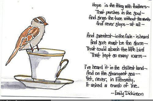 couragehopestrength:  Emily Dickinson ♥