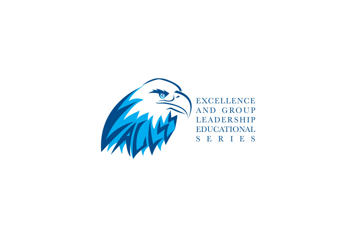 EAGLES. Excellence and Group Leadership Educational Series logo. EAGLES is a training/lecture series for my day job.