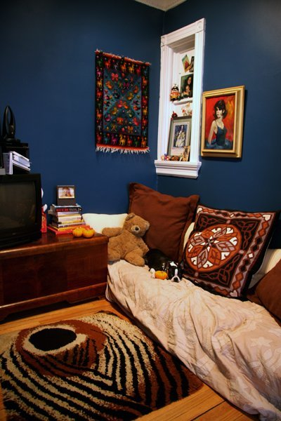 "Apartment Therapy Main - Leah's ""Earthy Superhero"" Room Room for Color 2011"