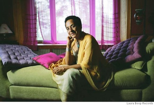 At home with Afro-Peruvian musician Susana Baca.