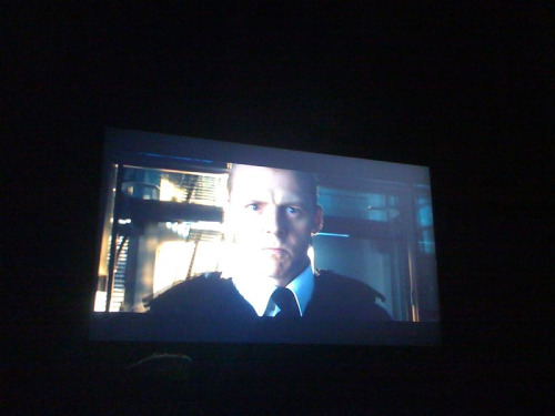 Watching parts of HOT FUZZ