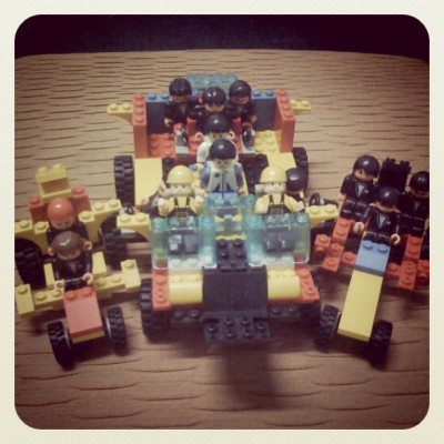 The Anti-Zombie Brigade! :p #iloveLEGO (Taken with Instagram at Zombieland)