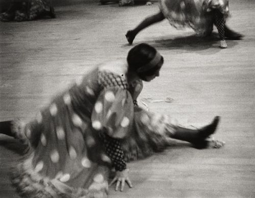 Cancan Dancer, Moulin Rouge, 1931 by Ilse Bing [previously: #1, #2 & #3 and more]