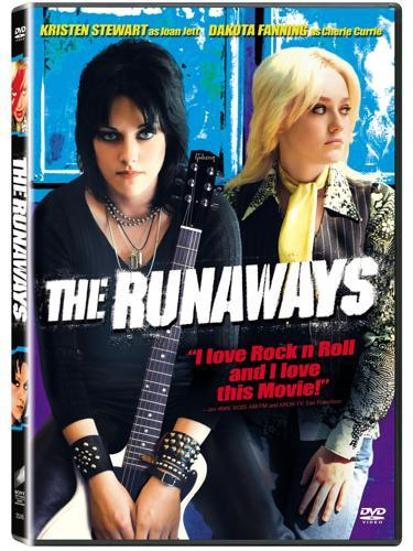 StormwindJack reviews movies: The Runaways I like The Runaways. I liked the band, a kinda girl Ramones (No, I don't want to get into an arguement with you, punk purists-I said kind of, aiiiight?) before the movie came out, but not enough that I knew it had Joan (I Love Rock and Roll/ Bad Reputation) Jett as it's lead singer. I knew Cherry Bomb, Hollywood, Queens of Noise. Anyway, I like this movie. Dokota Fanning grows up, making me feel like a massive creepo, K-Stew has the introverted rebel personna down pat and the music scenes are fucking awesome. I'm going so far as to say as this is my second favourite rock biopic since Almost Famous. The Best Part: A supremely awkward scene in which Cherie Cure (Dakota Fanning) auditions for the band, with their sleazy dickwad producer Kim Fowley, sweating all over her. The Worst Part: The shambling, stuttering end of the movie, which doesn't have the guts to identify villians or heroes and doesn't really finish any sort of story. Also the worst: Don't hire Alia Shawkat (Maybe in Arrested Development) if you're not going to give her any notable lines-thats just a fucking waste.