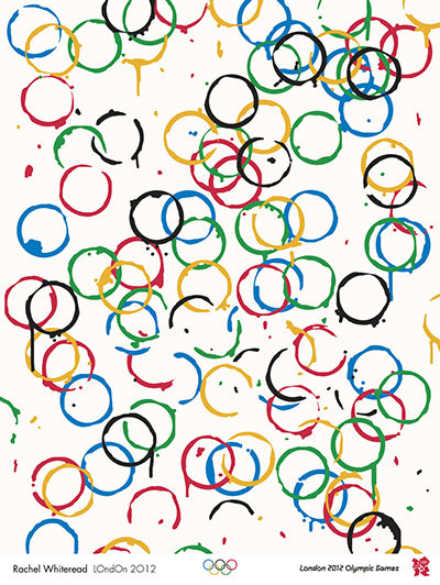 The London 2012 Olympic and Paralympic games posters/advertising through art. It may have one of the shittest logos ever, but these posters are just beautiful.