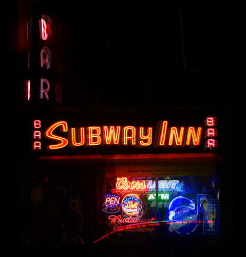 Subway Inn, layered (by catasterist)