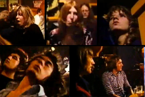 Some Heads watching Kilburn & The High Roads in 1973
