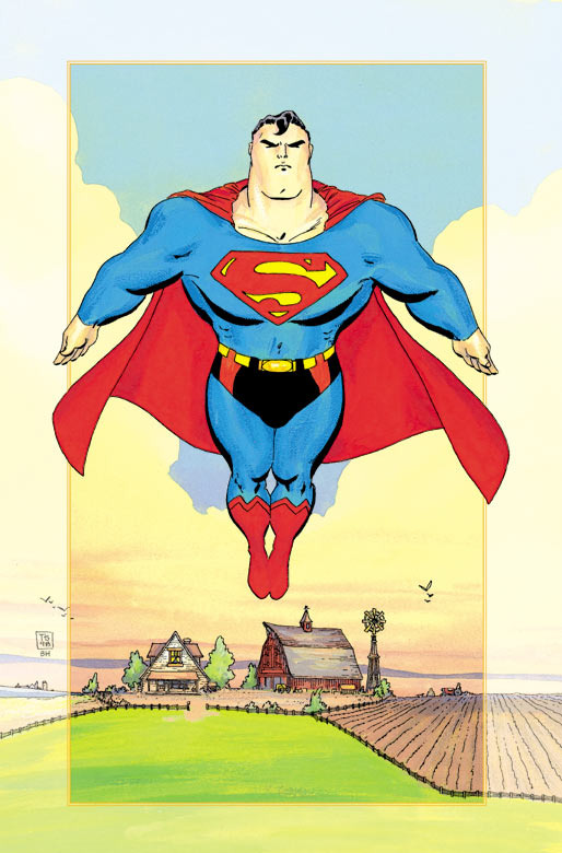 comicartappreciation:  Superman // Tim Sale