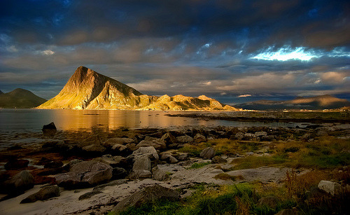 Places I'd like to visit #688:  Napp, Nordland Fylke, Norway © steinliland