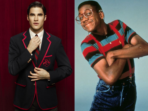 I liked Blaine when he was the hotshot lead singer of the Warblers, now he's Urkel.  - commenter nadia in TWoP 10: TV Couples We Just Don't Buy