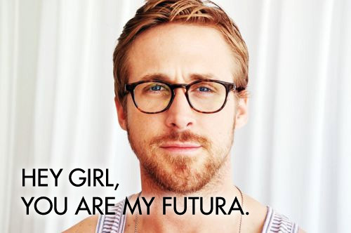 Two of my favorite things: Typography and Ryan Gosling. New favorite site: http://typographerryangosling.tumblr.comI created the image above.
