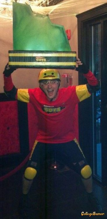 Nickelodeon Guts Contestant