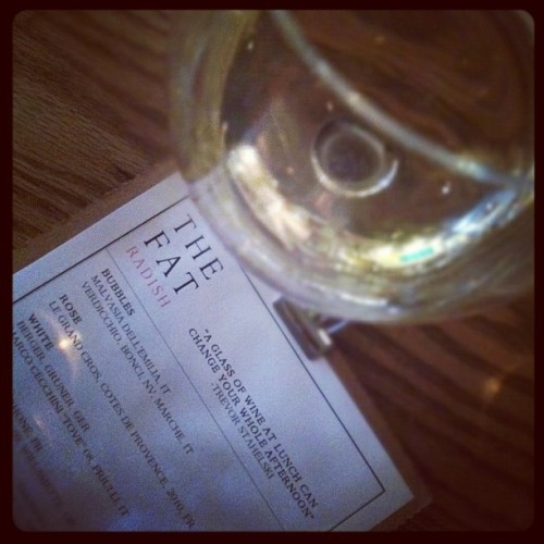 Preach it! #TGIF (Taken with Instagram at The Fat Radish)