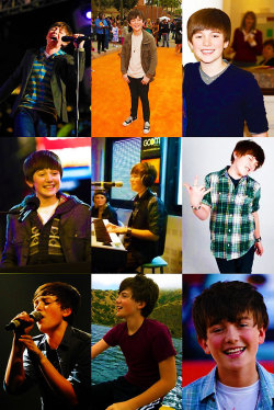 My favourite singers/bands → Greyson Chance I do support Greyson Chance, not just becaue his music is great, also because he may have many inspirations, but he's also a source of inspiration. How he became succesfull is incredible. He's just 14 and he's known all around the world. His talent gave him all he deserves, he's got a beautiful voice and awesome piano skills. He also never forgets to be who he really is!  Long live to Greyson Michael Chance, you have all my support.