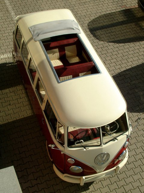 vwcamper:  What a great angle of this 23-Window!