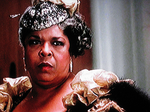 """I'm an honest hoe…and all my hoes is honest."" — Della Reese as Vera Walker from the motion picture Harlem Nights."