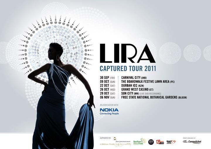 "Lira in The theme dress for the ""Captured Tour"" by Sylvester Falata."