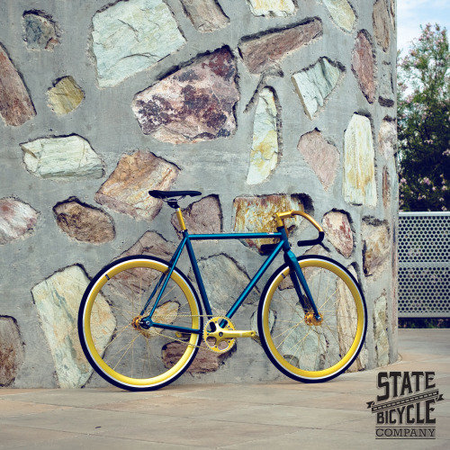 statebicycle:  Benji w/ State Bicycle Co. pista bars.