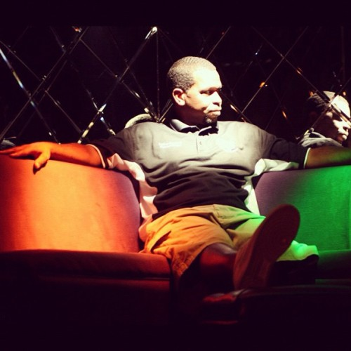 shoot with @UncleLukeReal1 for #TheU at Bella Rose (Taken with instagram)