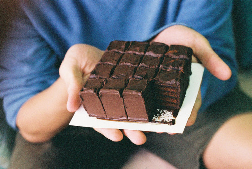 Chocolate Cubes. by theseyoungarchies on Flickr.