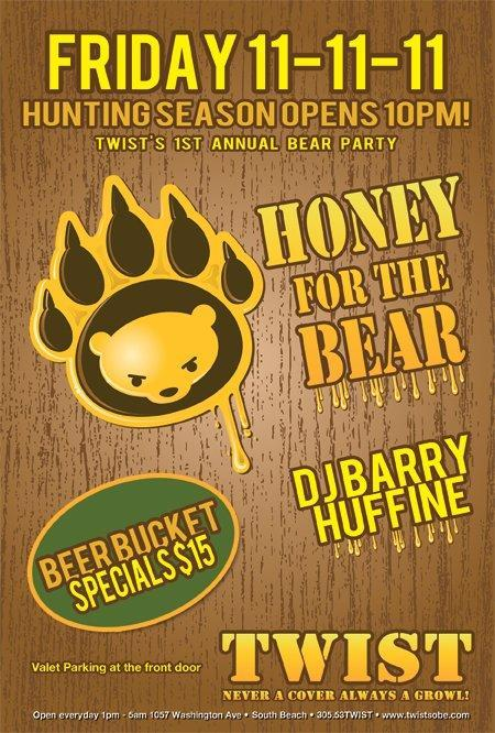Honey For The Bear at TWIST!