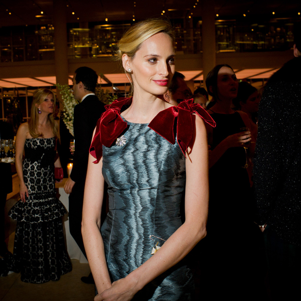 Our Look of The Moment goes to Lauren Santo Domingo at the Metropolitan Museum: http://tmagazine.blogs.nytimes.com/2011/11/04/look-of-the-moment-lauren-santo-domingo/