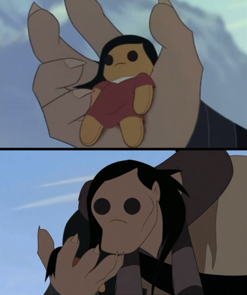 lissyfishy:  disneyfaceswap:  blazinwolf submitted.  desu  Can't stop laughing XD