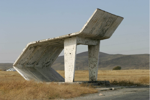 From the Soviet Bus Stops series by Christopher Herwig