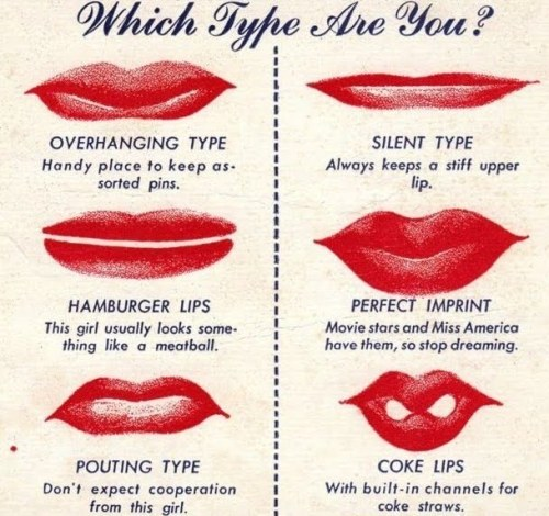 hollyhocksandtulips:  Lip tester, 1940's