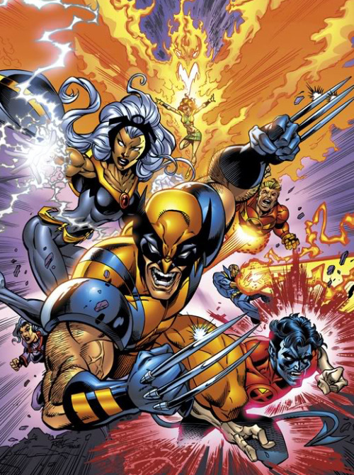 The X-Men By John Royle