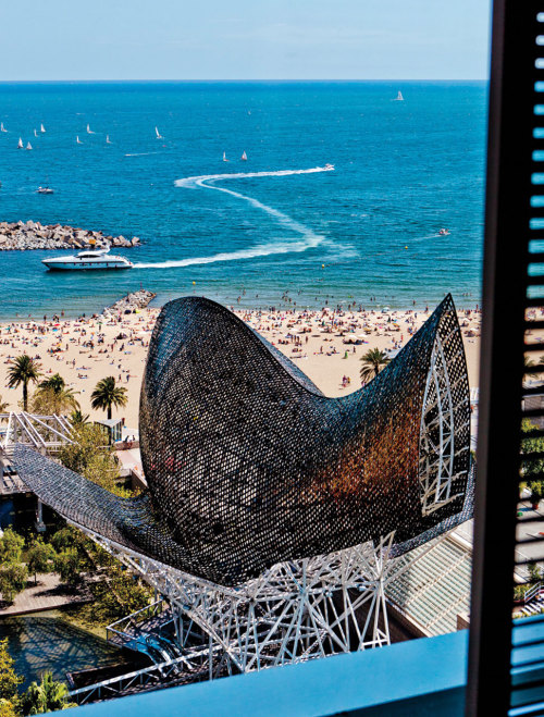 Room with a View | Room 1601, Hotel Arts Barcelona See a video our Executive Editor shot from his room on the 33rd floor, and our digital edition for a day-to-night time-lapse.