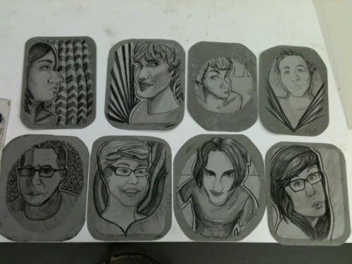 Ball Grain Lithography Plates.  I'm doing a large multiple portrait series, of every one that i communicate with. Also, i the way we counter reflect is apart of it.