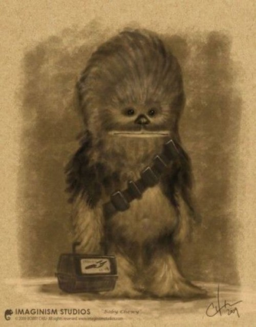Chewbacca's Very First Day of School.