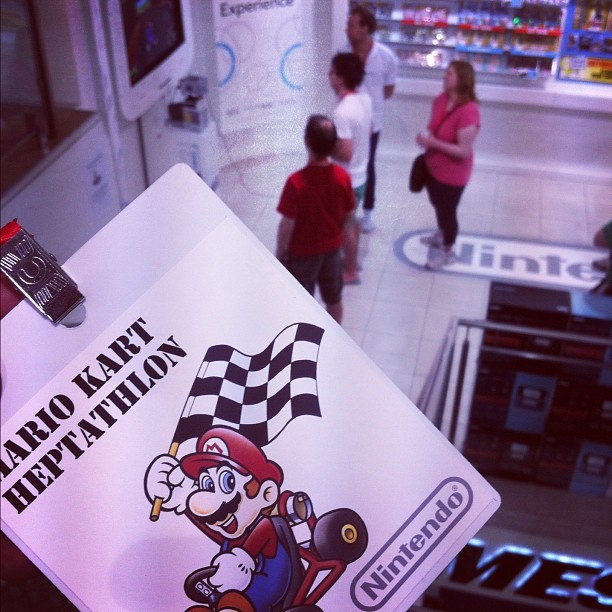 Mario Kart Heptathlon 👍 #Nintendo (Taken with instagram)